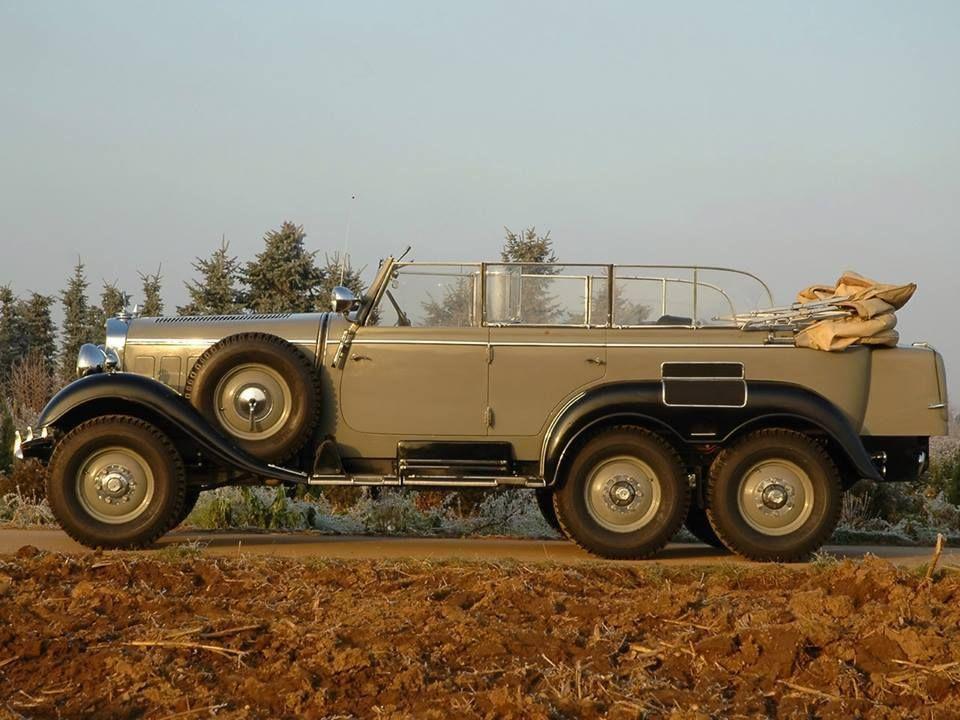 1940's Mercedes 6x6 Military staff car | Favorite Cars | Pinterest