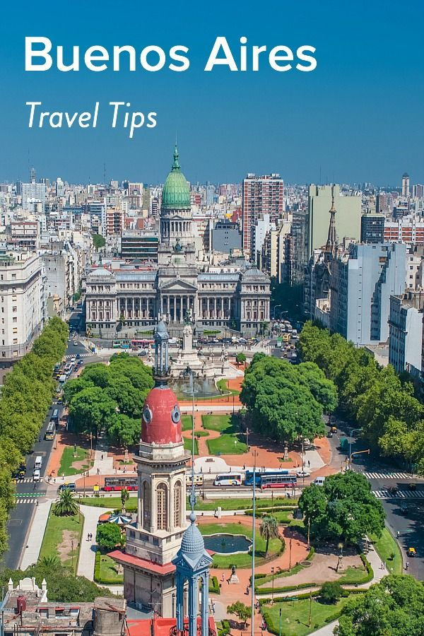 voyage a buenos aires argentine