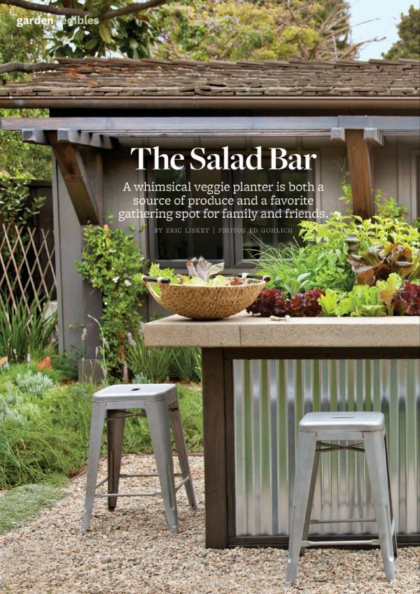 Good The Salad Bar As Seen On Better Homes And Gardens Magazine, June 2014