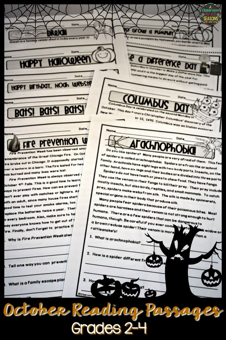 These High Interest Nonfiction Reading Comprehension Activities Are Lots Of Halloween Reading Comprehension Reading Comprehension Activities Reading Classroom [ 1102 x 735 Pixel ]