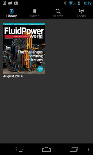 Fluid Power World is written by engineers for engineers engaged in designing machines and or equipment in Off-Highway, Oil & Gas, Mining, Packaging, Industrial Applications, Agriculture, Construction, Forestry, Medical and Material Handling. Fluid Power World provides real world case studies by industry and will deliver technical tutorials across engineering disciplines.<p>This application is powered by GTxcel, a leader in digital publishing technology, provider of hundreds of online digital…