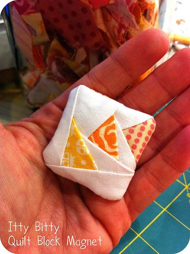 Adorable tiny quilt project!