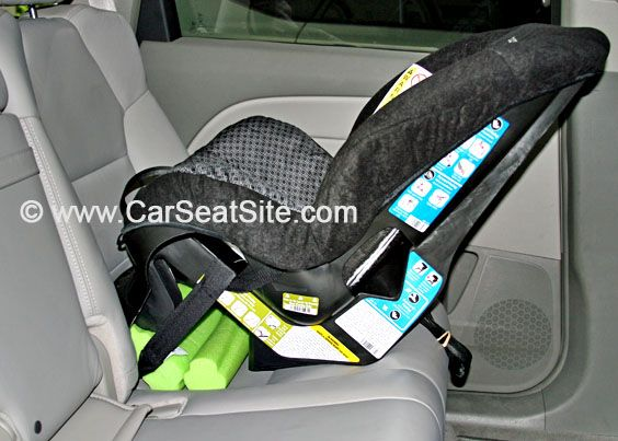 How To Use A Pool Noodle Adjust The Recline On Rear Facing Car Seat