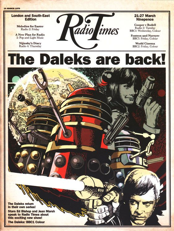 The Daleks are back on Radio Times cover | Classic Who