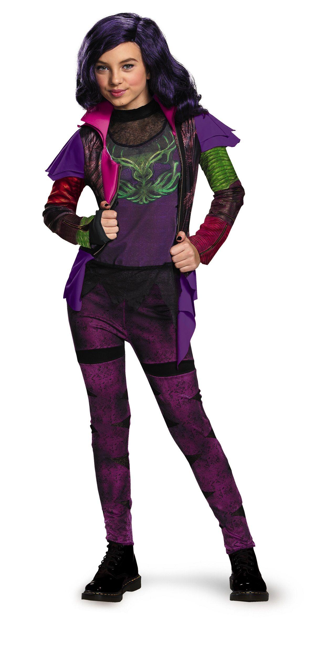 Disney Descendants Mal Isle Of Lost Girls Halloween Costume ...