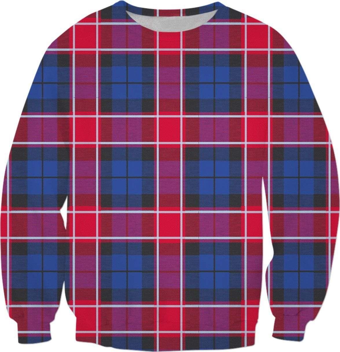 GRAHAM OF MENTEITH RED TARTAN SWEATSHIRT S1 | Products | Pinterest