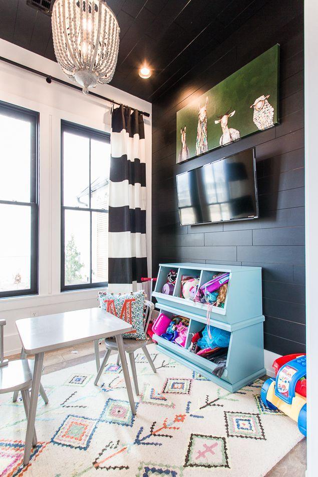 Sunroom Playroom Decor