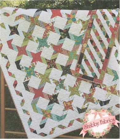 Layer cake and jelly roll quilt