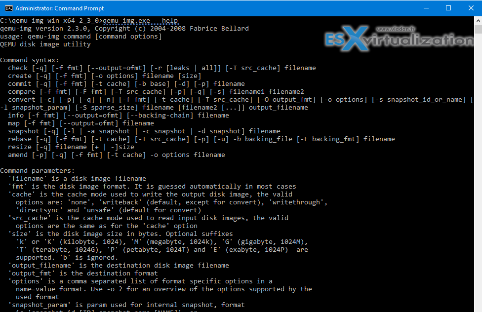 QEMU disk image utility for Windows - Free Tool   Disk ...