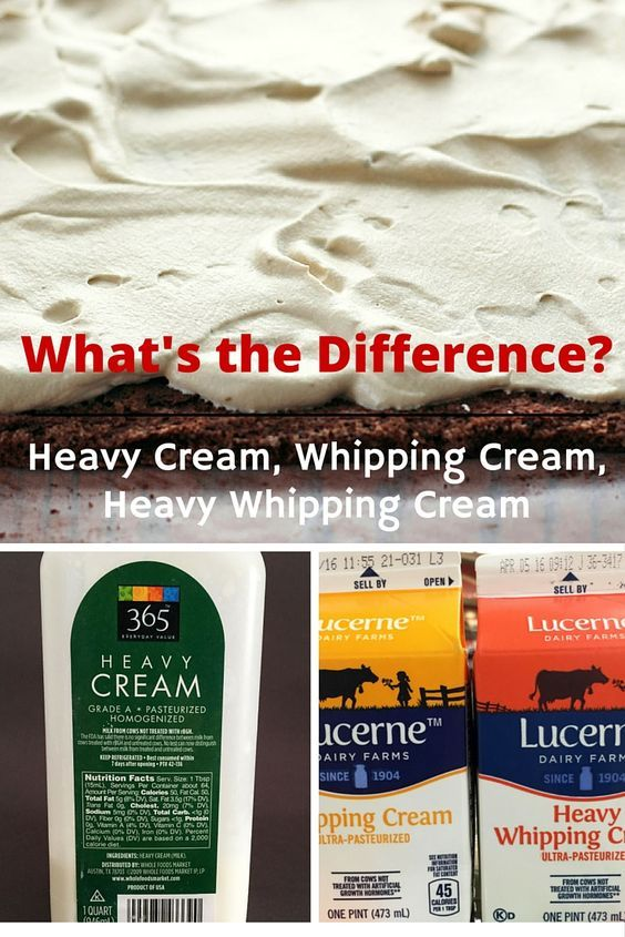 how to make heavy whipping cream thick