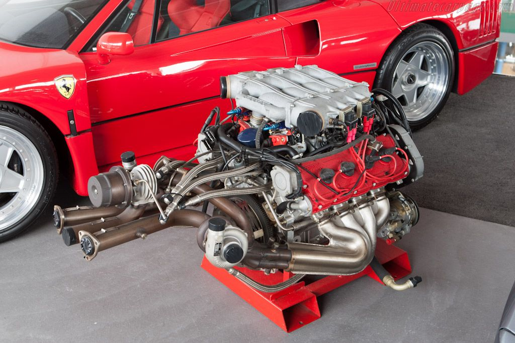 Ferrari F40 2.9L V8 | Engines | Pinterest | Ferrari f40, Ferrari and ...
