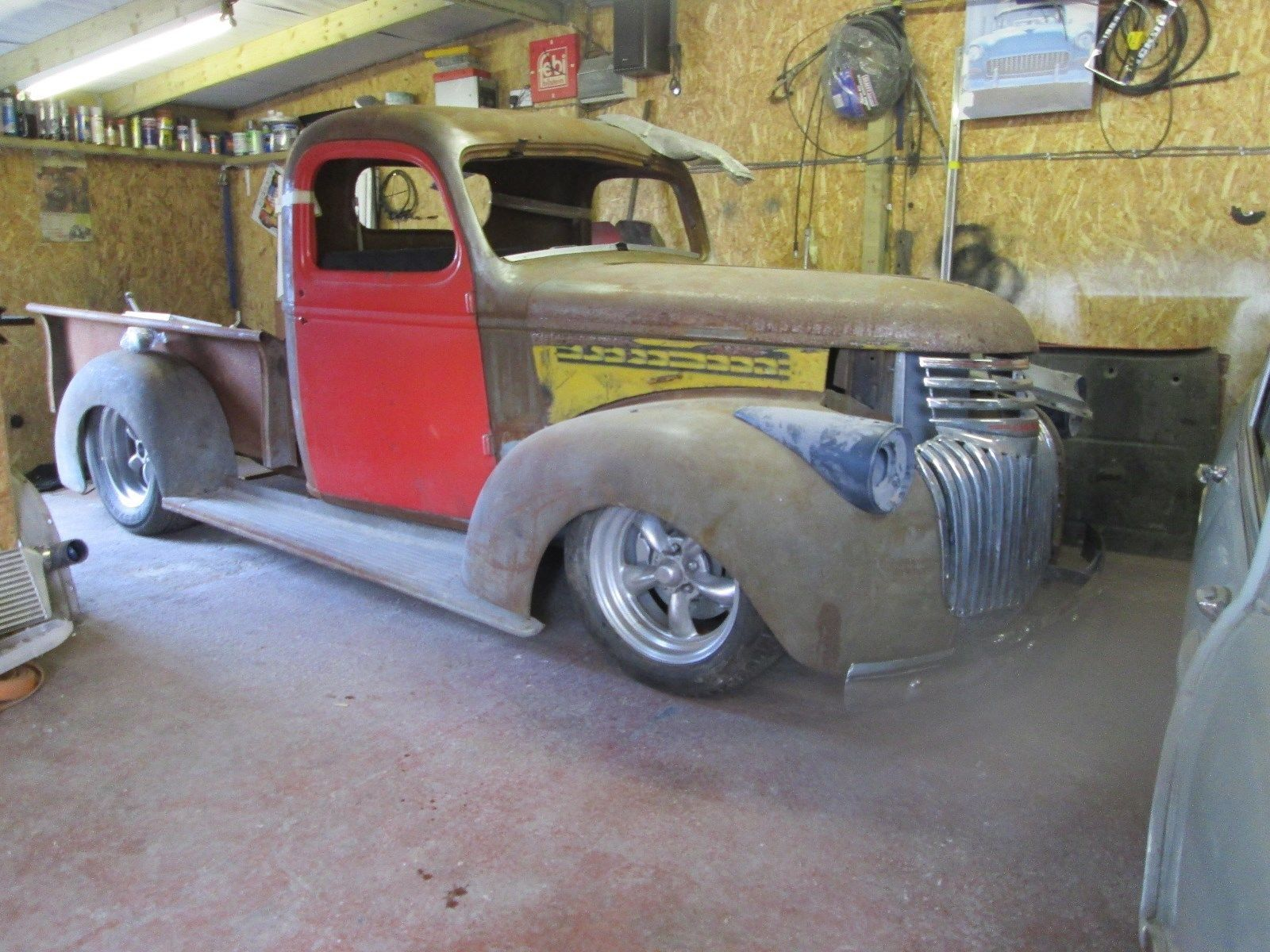 Ebay 1946 Chevrolet Pickup Hotrod Project 100 Solid Loads Of New