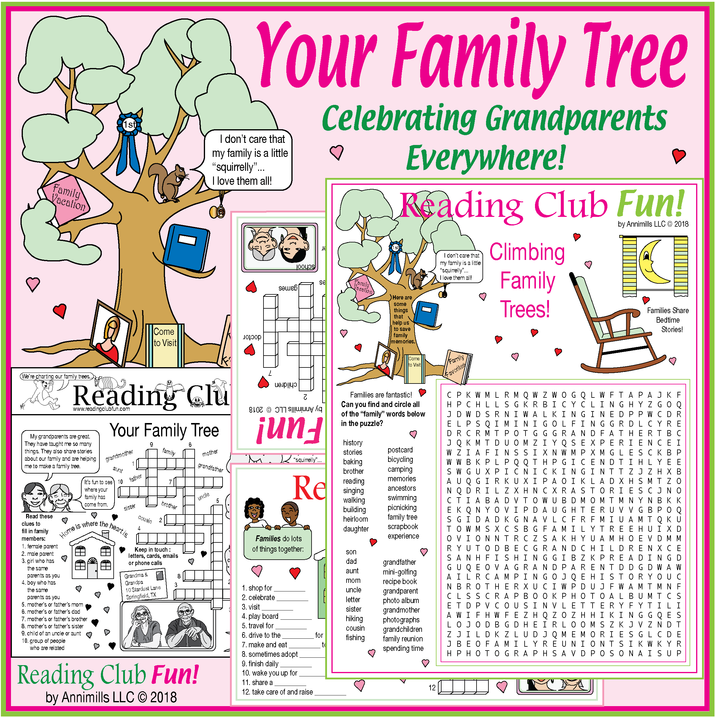 Your Family Tree Grandparents Day Genealogy