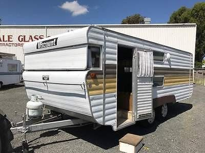 VISCOUNT TANDEM 18'a real caravan they don't build them as good as