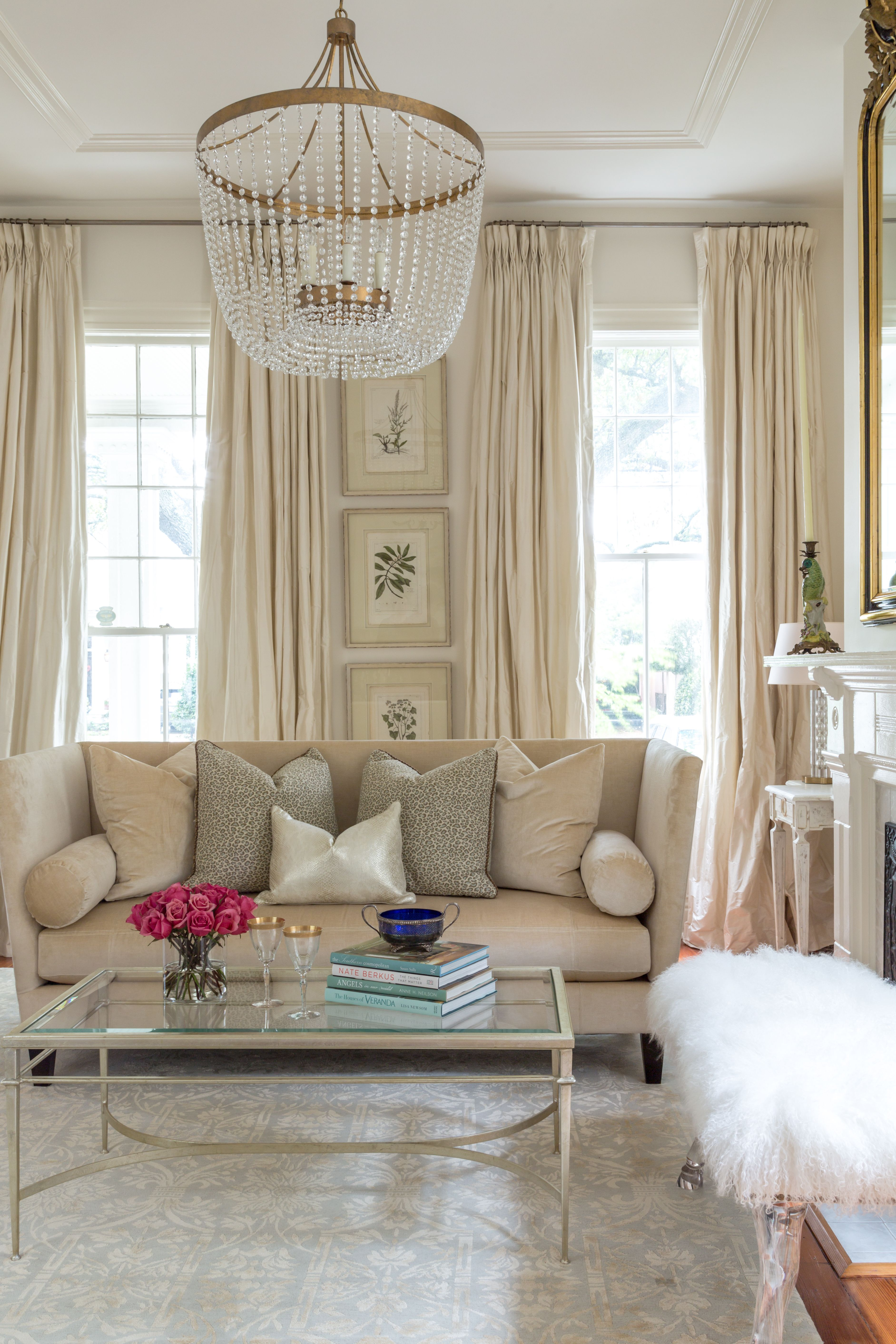 Classic Living Rooms Interior Design: The French Mix By Jennifer DiCerbo