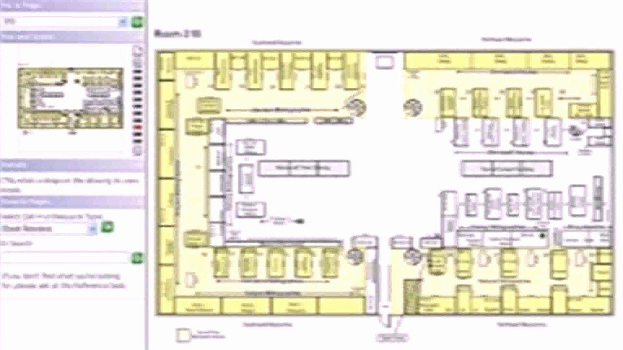 30 Visio Floor Plan Template in 2020 Library floor plan