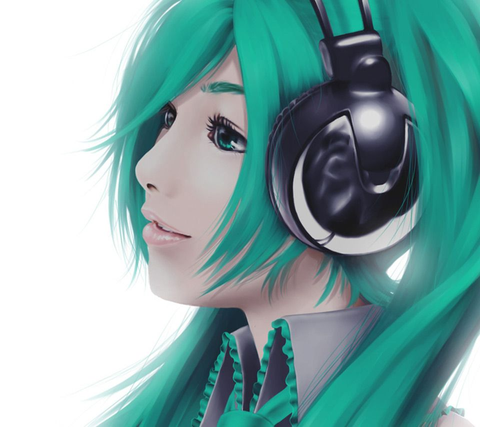 Anime Girl Listening To Music: Anime Girl Listening To Music - Google Search