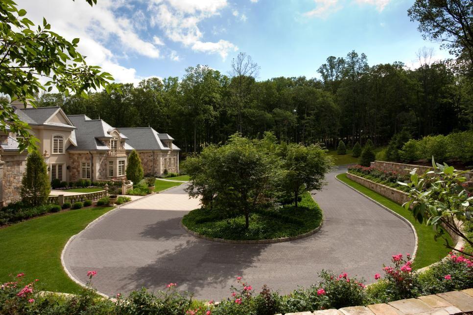 Traditional Estate Showcases Formal Garden
