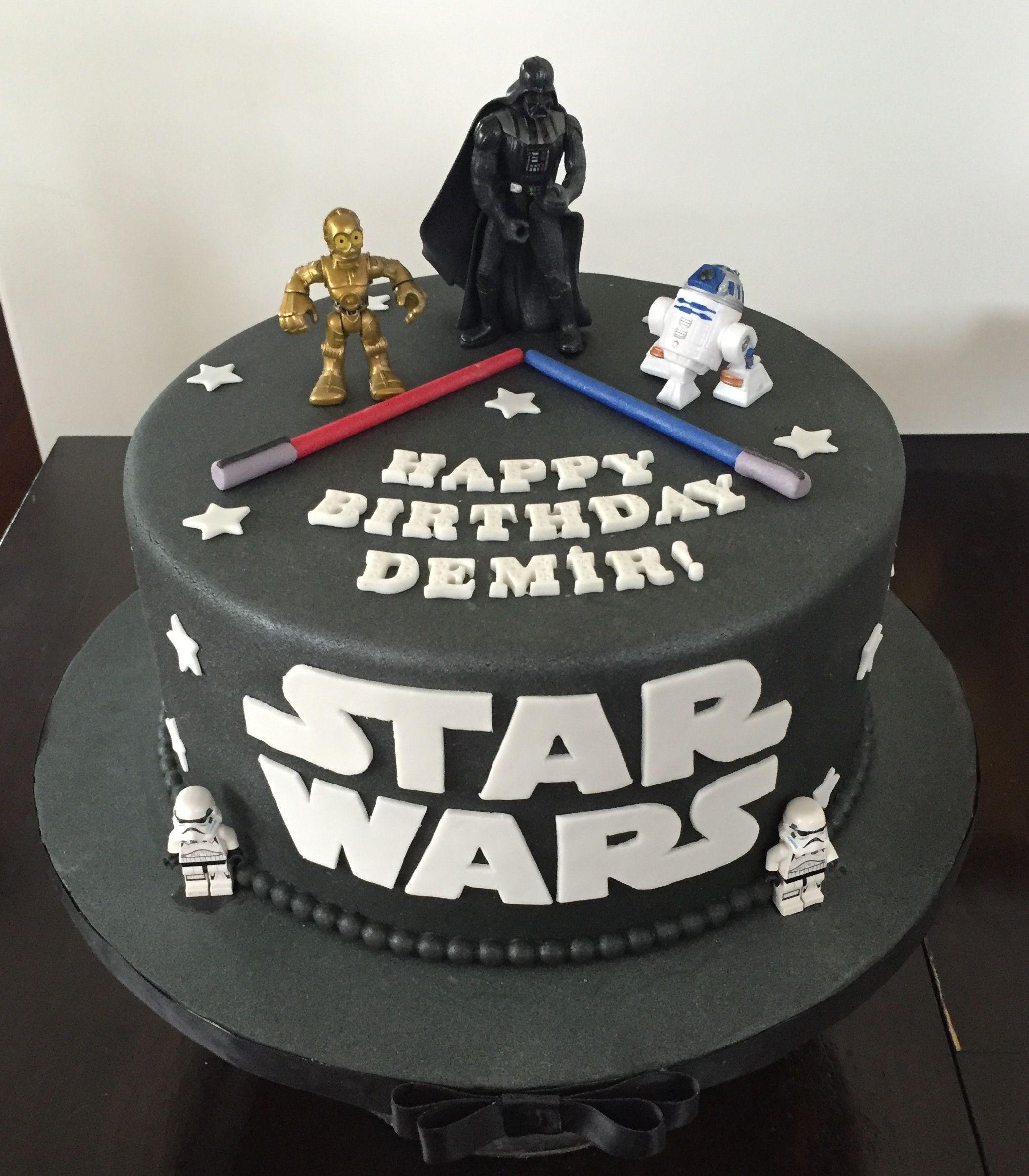 Star Wars Cake Star Wars Birthday Cake Star Wars Cake War Cake