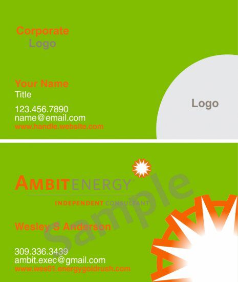 Carte De Visite Ambit Business Cards 35 1000 Full Color Double Sided Free Shipping