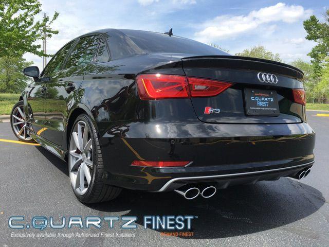 Audi S3 With Cquartz Finest Ceramic Coating At Status Auto Detailing In Springfield Mo Autodetailing Autodetai Car Detailing Springfield Mo Ceramic Coating