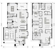 Elwood 406 Home Designs In Newcastle G J Gardner Homes Denah Rumah Desain Dekorasi Rumah
