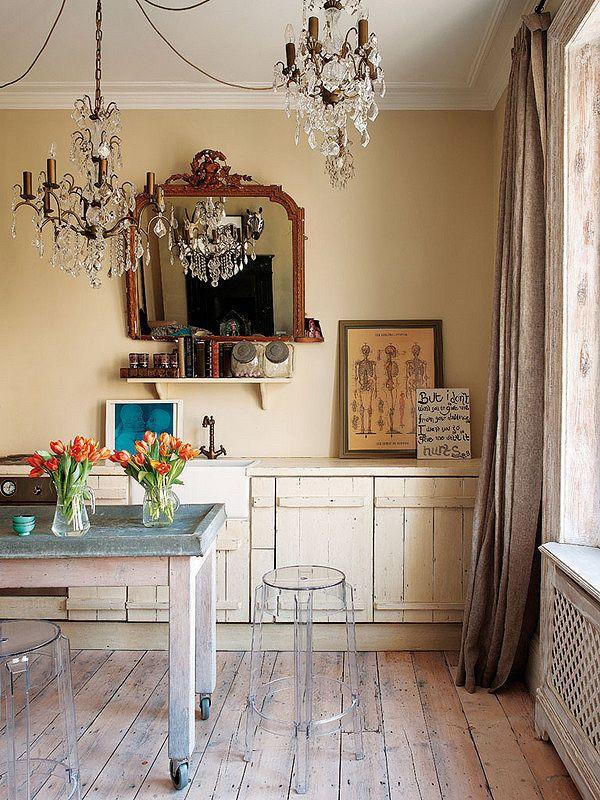 Glamorous London Apartment of Fashion Designer Bea Deza | Afflante ...
