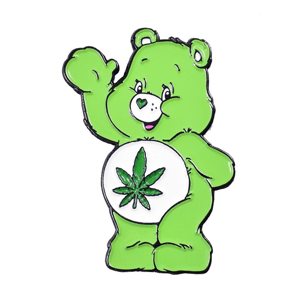Don T Care Bear Lapel Pin In 2020 Care Bear Tattoos Bear Paintings Care Bear