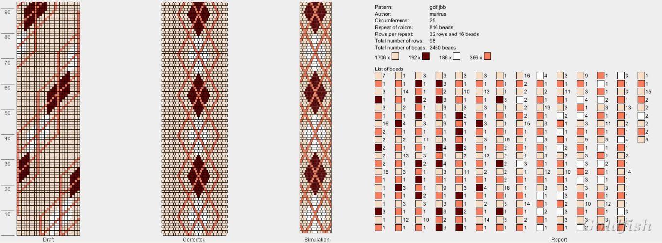 Gallery.ru / Photos n ° 80-1 - marirus | Bead crochet | Pinterest ...