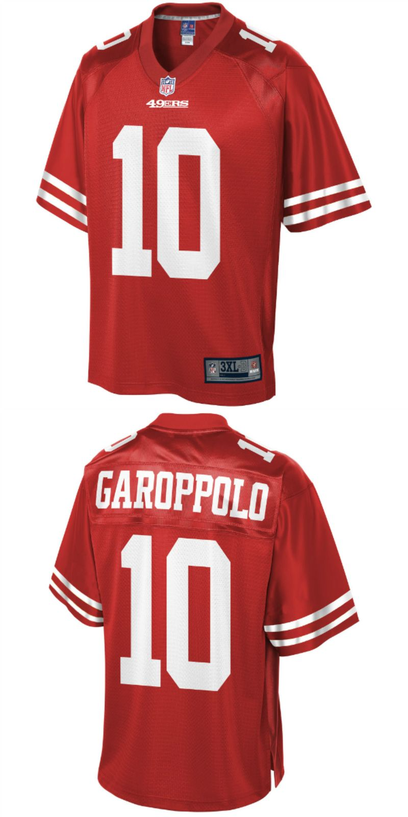 timeless design afa4d a0966 UP TO 70% OFF. Jimmy Garoppolo San Francisco 49ers NFL Pro ...