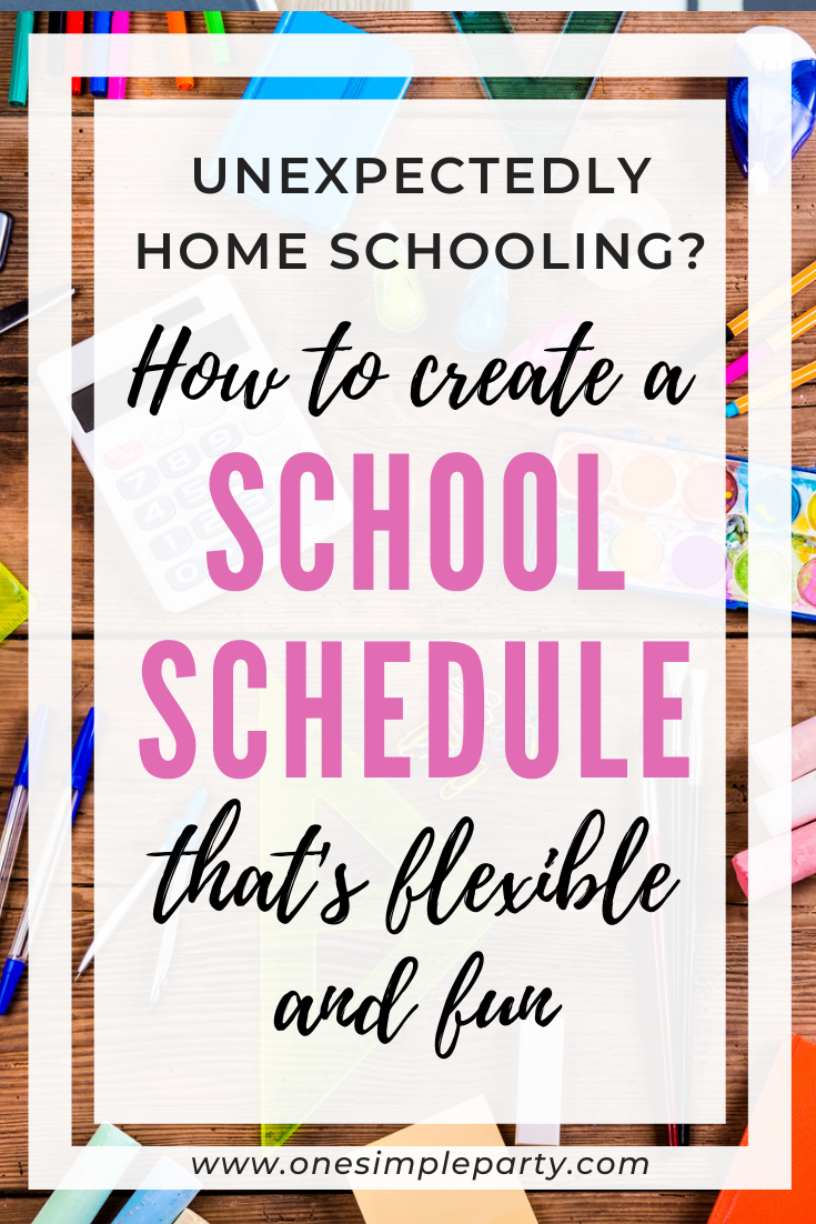 Photo of How to Create a School Schedule that's Flexible and Fun