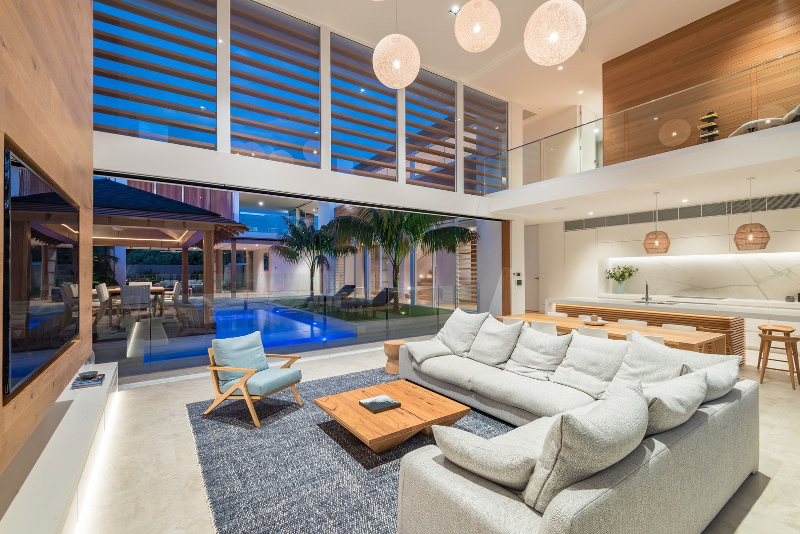 Congratulations to the BDAQ State Design Award Winners. Some amazing designs  in a range of cate… | Contemporary beach house, Modern house design, Family  room design