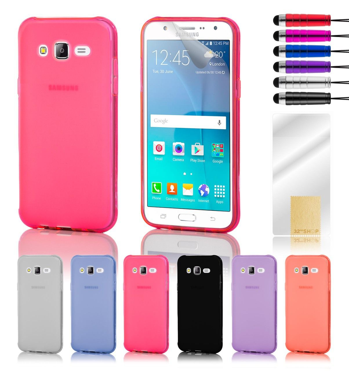 Samsung Galaxy J5 2016 Crystal Gel Case Samsung Galaxy Screen Protector Samsung