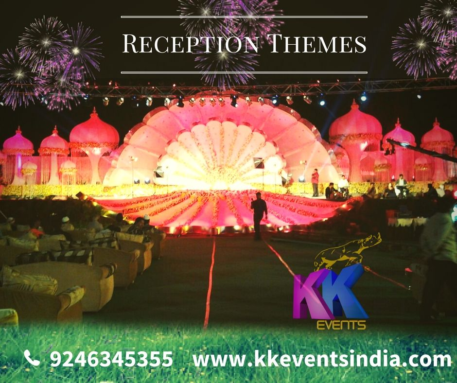 KK events innovation for reception, Grand decor with