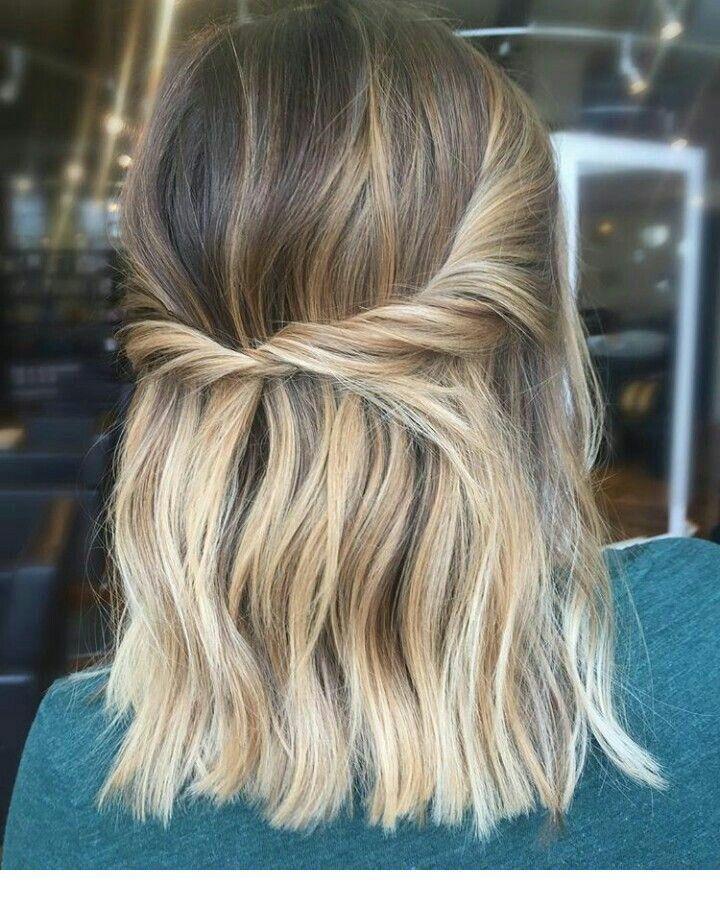 Schone Idee Fur Blondes Haar Hair Blondes Fur Haar Hair Idee Schone Blonde Haare Ideen Einfache Frisuren Mittellang Schone Blonde Haare