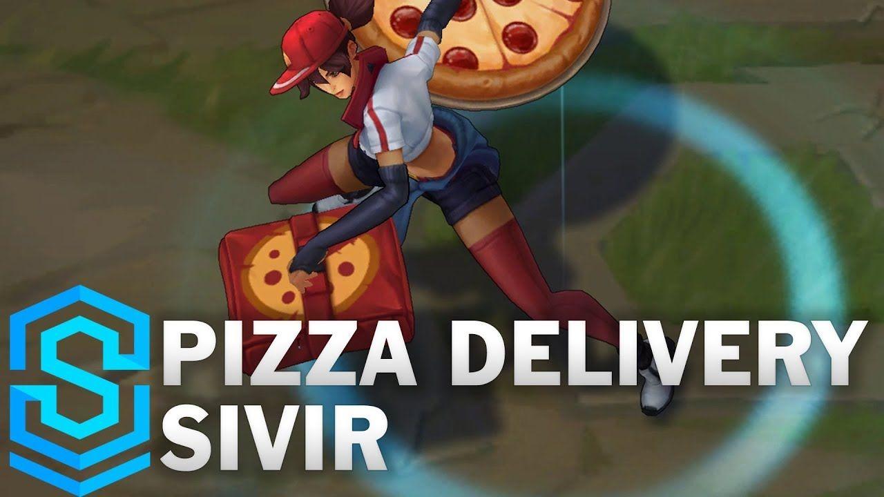 Pizza Delivery Sivir Skin Spotlight League of Legends
