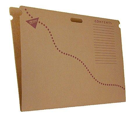 bulletin board storage box folders