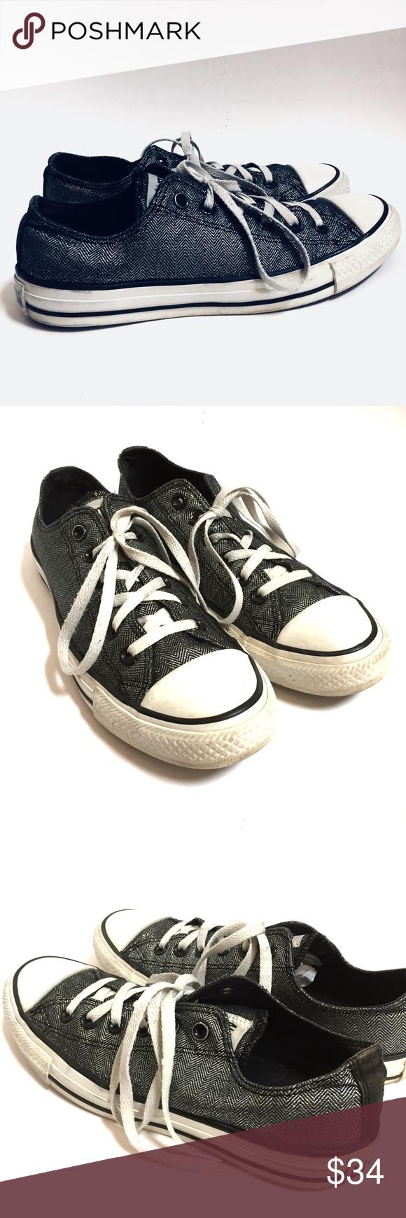 a1a54e14423b Converse Allstar Sneakers Metallic Gray Metallic charcoal gray converses