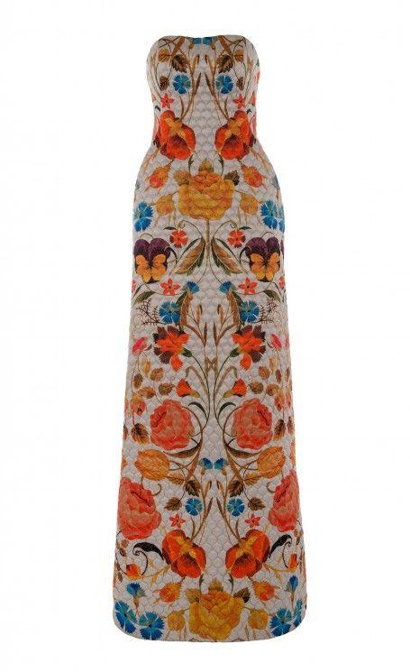 { Long Quilted Bonita Dress }