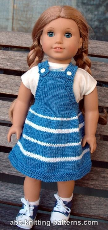 Американская Девушка Куклы Ярмарка Джемпер Небо | вязание ...