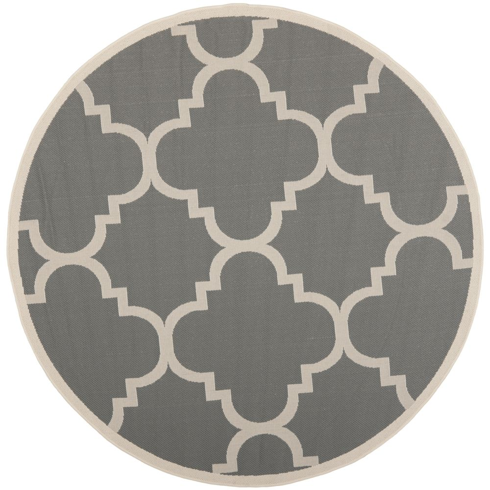 Safavieh Courtyard Grey/Beige Moroccan-Style Indoor-Outdoor Rug - Overstock™ Shopping - Great Deals on Safavieh 7x9 - 10x14 Rugs