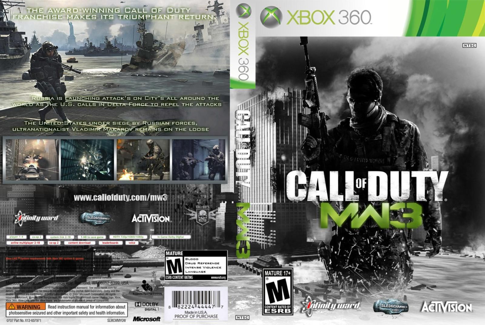 Callofduty3 Cover Capas Covers Xbox 360 Call Of Duty Modern Warfare 3 Modern Warfare Call Of Duty Xbox