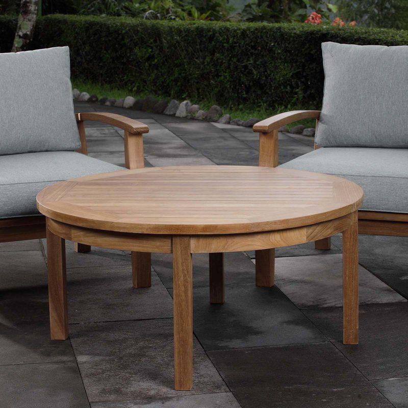 Hilmar Solid Wood Coffee Table Outdoor Coffee Tables Coffee Table Wood Teak Coffee Table