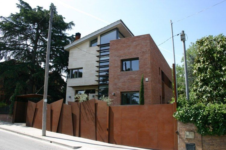 facade google da ideas garden fence ideas corten facade corten for ...