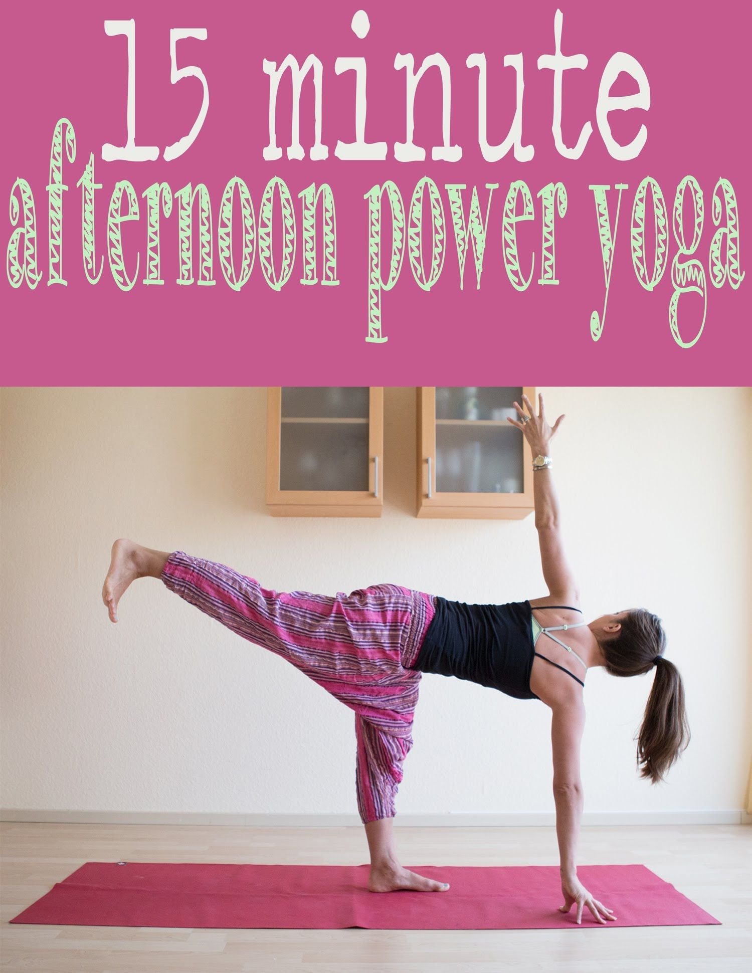 A 15 Min Instructional Power Yoga Video Best For Experienced Yoga