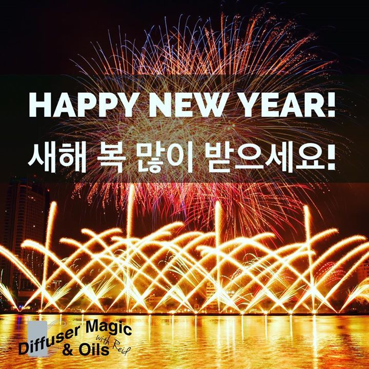 Happy New Year!  새해 복 많이 받으세요!    . . . . #essentialoils #에센셜오일 #happy #행복 #도테라코리아 #doterra # #aroma #향 #향기 #wellness #naturalliving #diffusermagic #diffuserblend #naturalproduct  #diffusing #아로마디퓨저 #diffuser #portable #health #healthy #rest #헬스 #헬스타그램 #pure #happynewyear #2016 to #2017