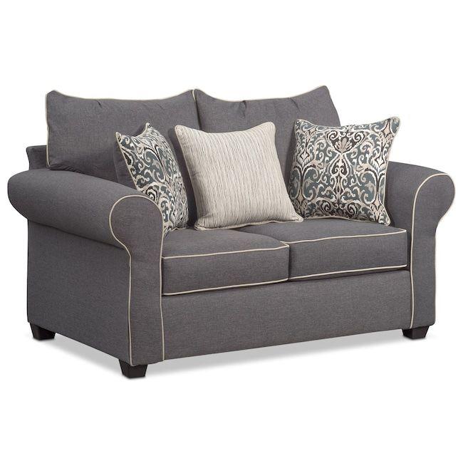 Carla Loveseat Furniture For Jeans Sofa Loveseat Set