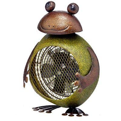 Figurine Heater Fan   Frog By Deco Breeze