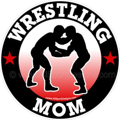 Wrestling MOM Car Stickers Decals Clings  Magnets Cricut - Custom wrestling car magnets