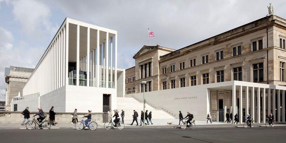 James Simon Galerie In Berlin Mit Indul Luftauslassen Museum Insel Hausbau Ideen Architektur